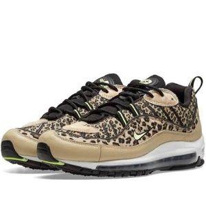NWT Nike Air Max 98 Premium Leopard